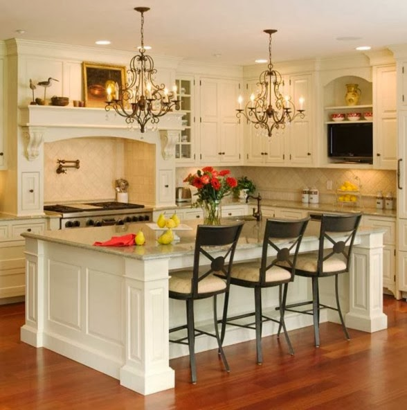 A Collection Of Excellent Kitchen Island Design Ideas