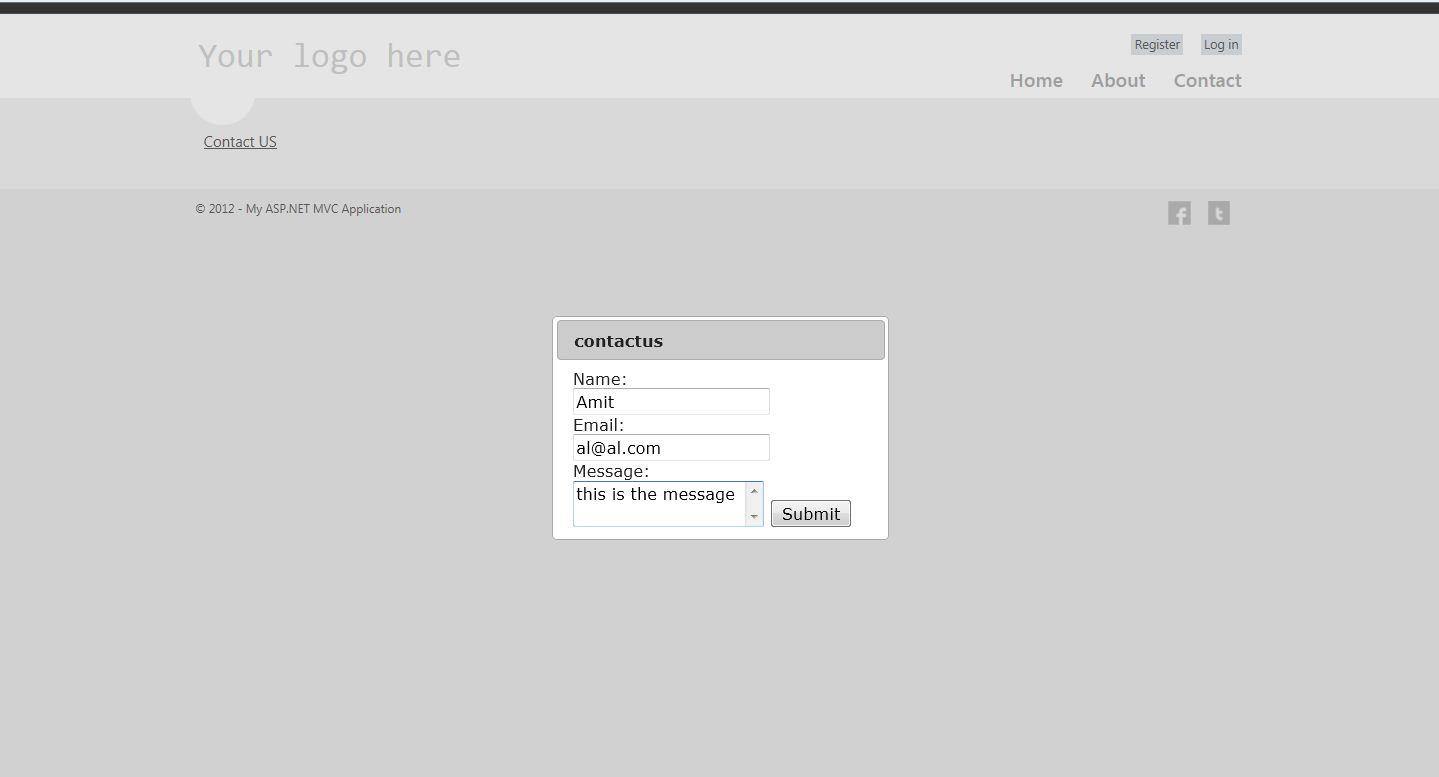 form view asp: