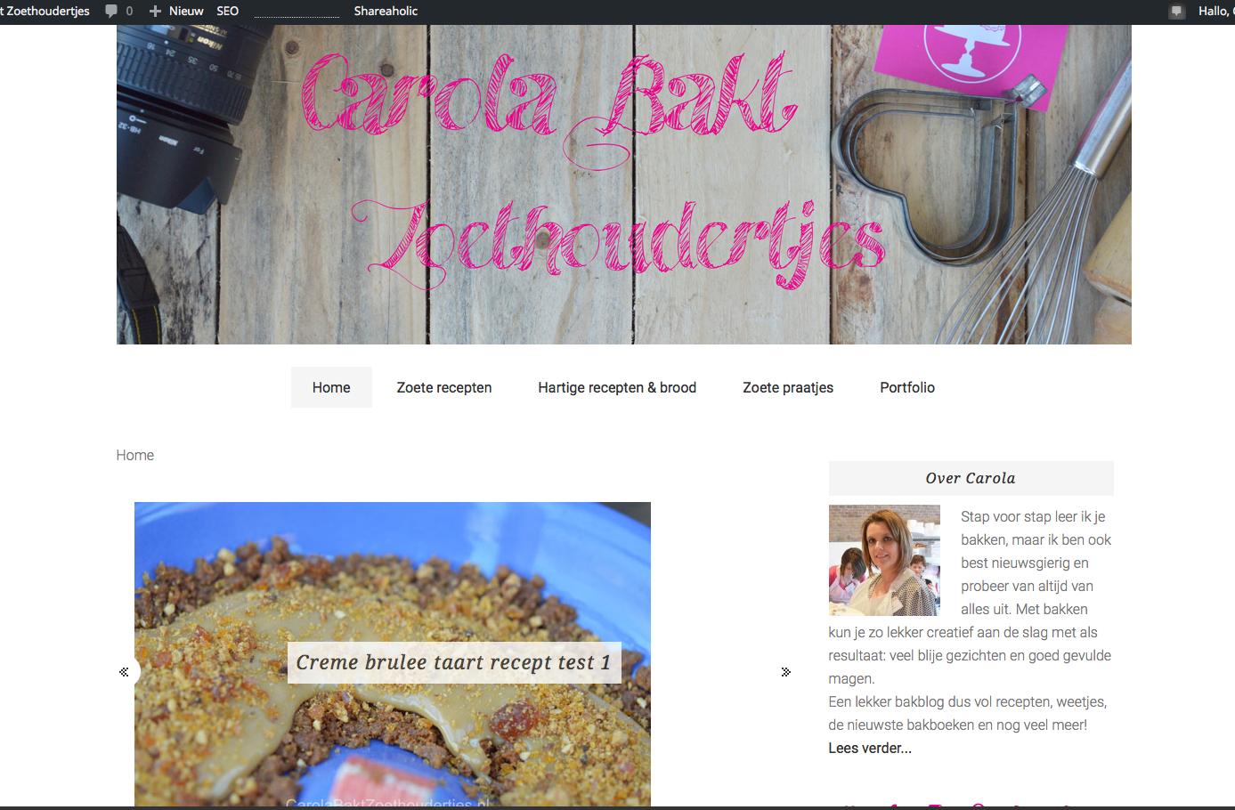 Preview: De nieuwe website is bijna klaar, nog even geduld