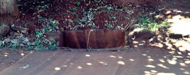 Roncador: Boca de lobo aberta oferece perigo a pedestres