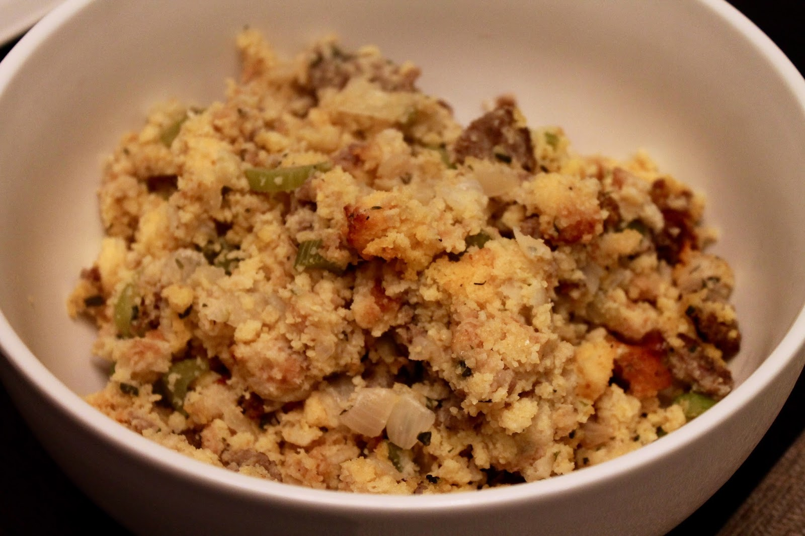 Cook In / Dine Out: Sausage Cornbread Stuffing