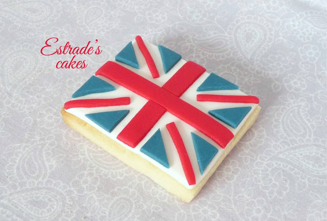 galletas de bandera de Gran Bretaña 1