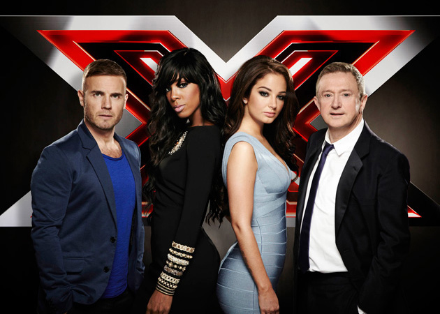 X Factor Judges 2012 The X Factor Uk...