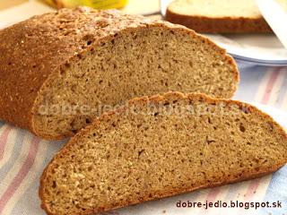 Špaldovo-ražný chlieb - recepty