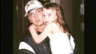 Eminem And Kim And Hailie 2012