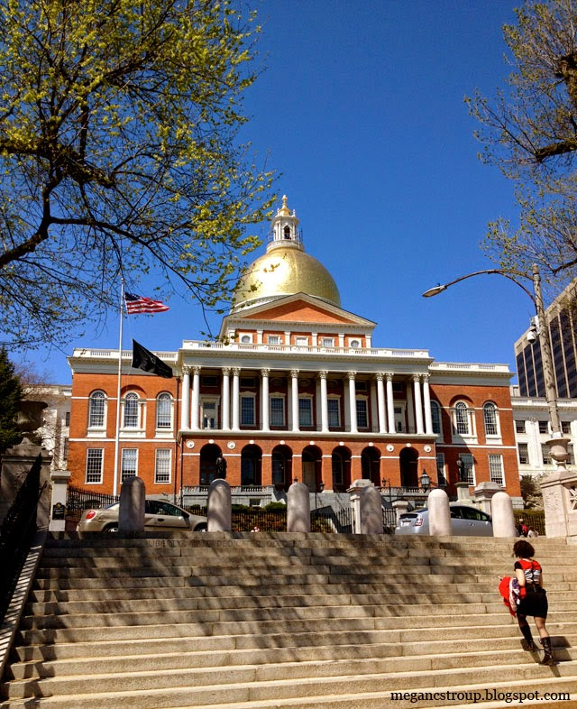 Massachusetts State House - Boston, Massachusetts, on Semi-Charmed Kind of Life