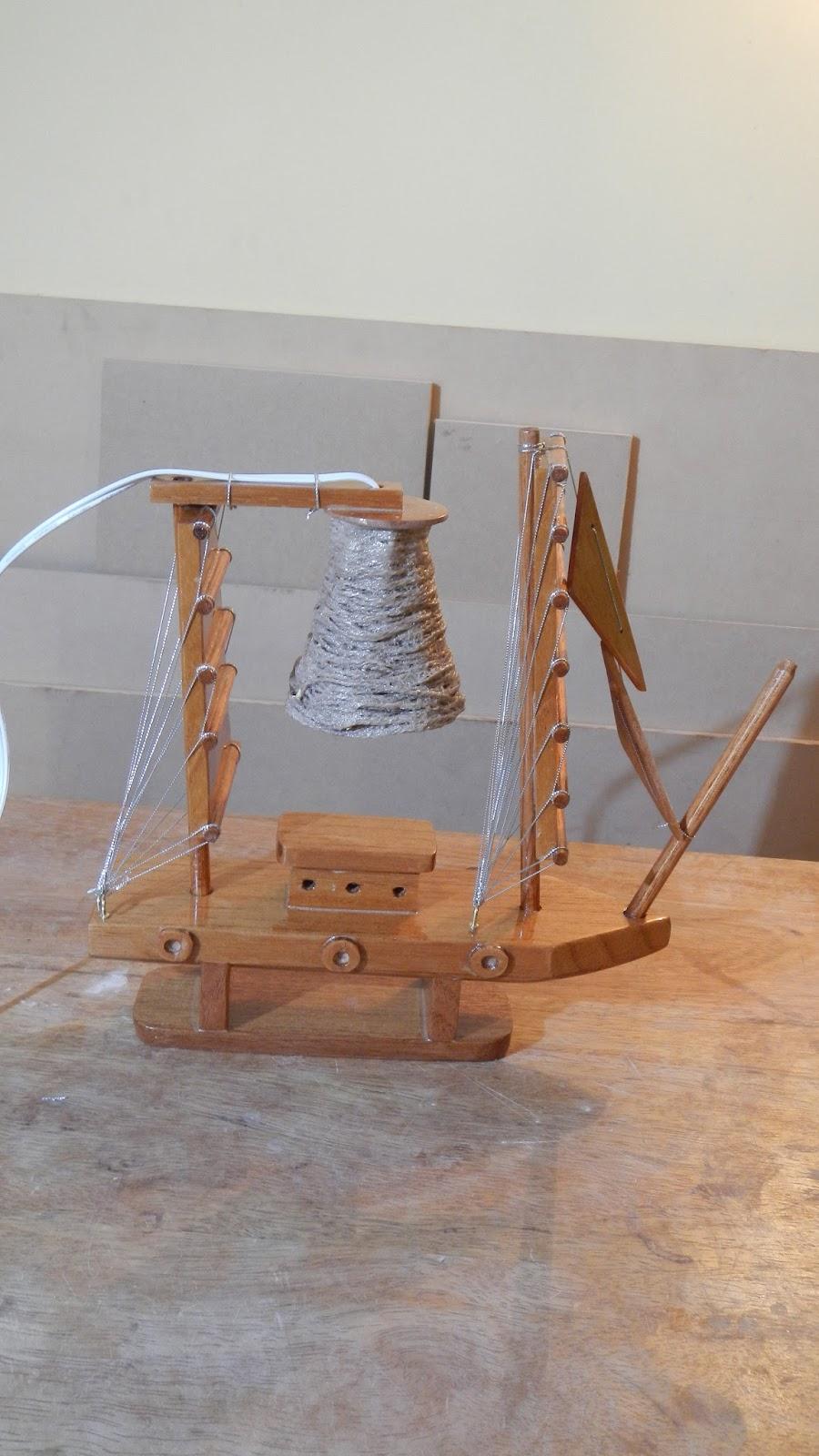 Decoraciones manualidades en madera como hacer lamparita - Hacer manualidades con madera ...