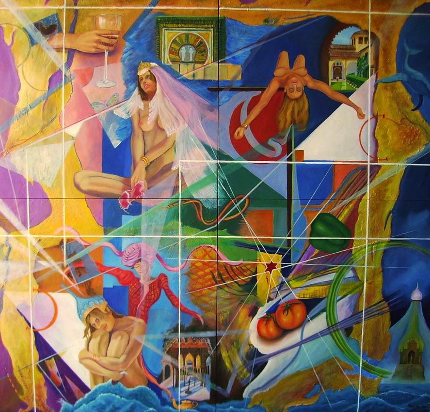 Las tres huríes del emir de Granada