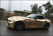 Category: BMW, BMW india, BMW Z4, D.A.D, Daljit Auto Designs, Gold bmw z4, .