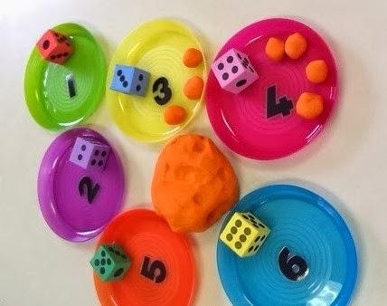 An Idea On Tuesday Playdough Maths Activity