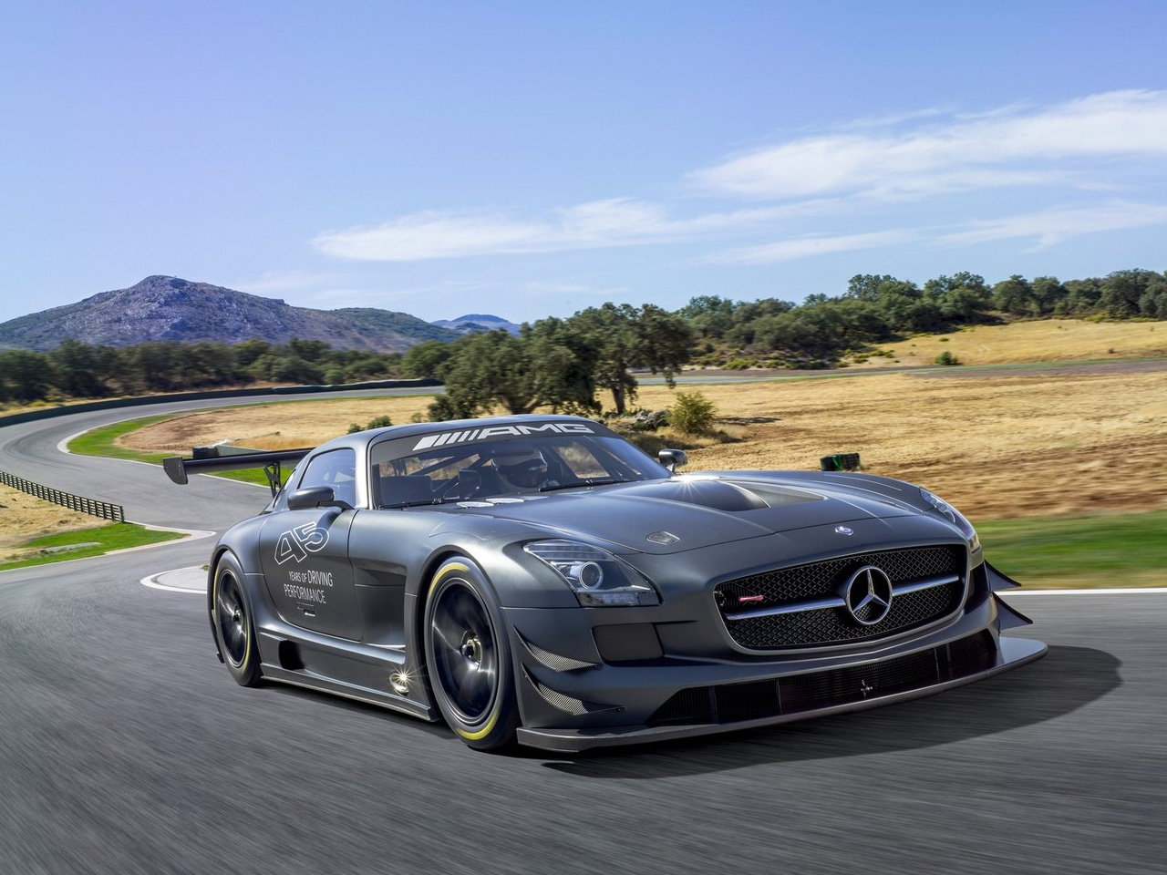 2013 mercedes benz sls amg gt3 45th anniversary cars info. Black Bedroom Furniture Sets. Home Design Ideas