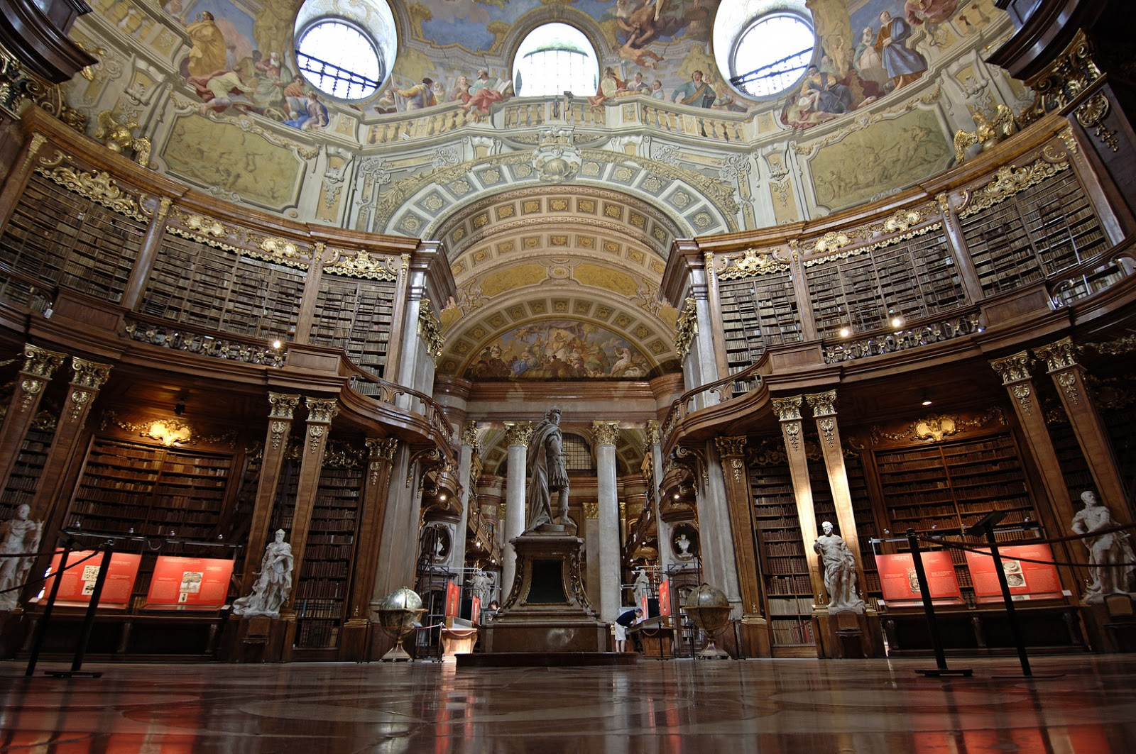 Places of Fancy: Where Is Belles Library in Beauty and ...