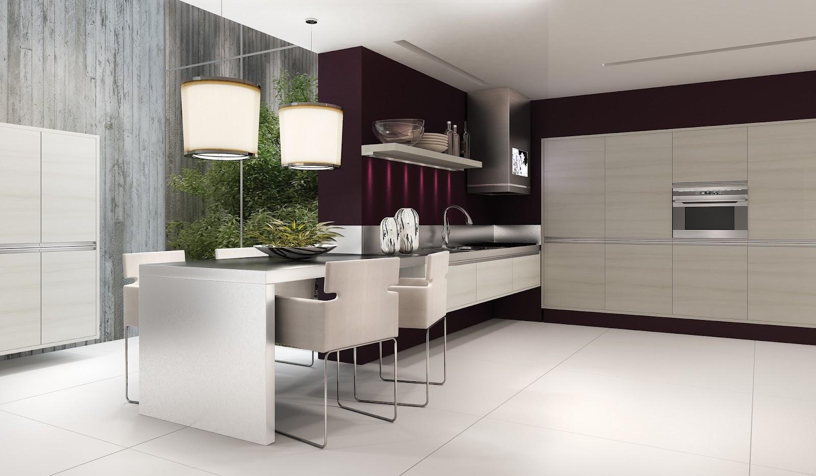 Design e Elegância em Cozinhas Planejadas Bella Kaza Móveis  #505936 1600 934