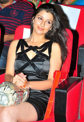 Madhurima in Black Short Skirt, Actress Madhurima in Mini Skirt, Madhurima Hot Thigh Show in Black Skirt Stills
