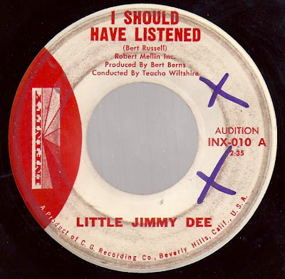 Little Jimmy Dee - I Should Have Listened - I Went On