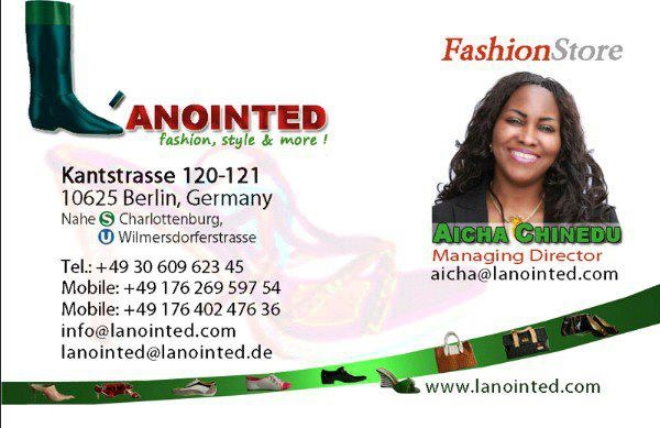 Lanointed Fashion store -Facebook page
