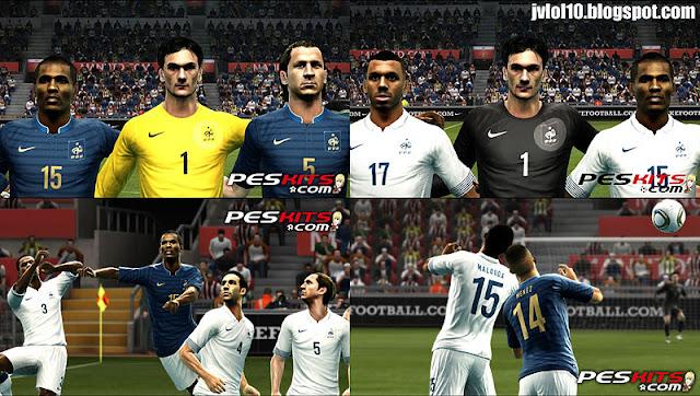 Новая Форма сборной Франции для Евро 2012.
