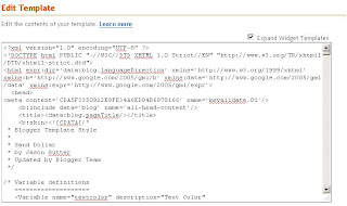 Add Facebook Send Button - Edit Blogger Template