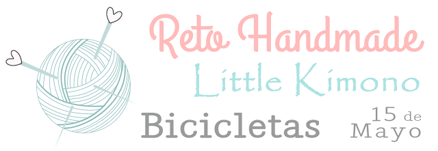 Reto handmade Little Kimono: bicicletas.