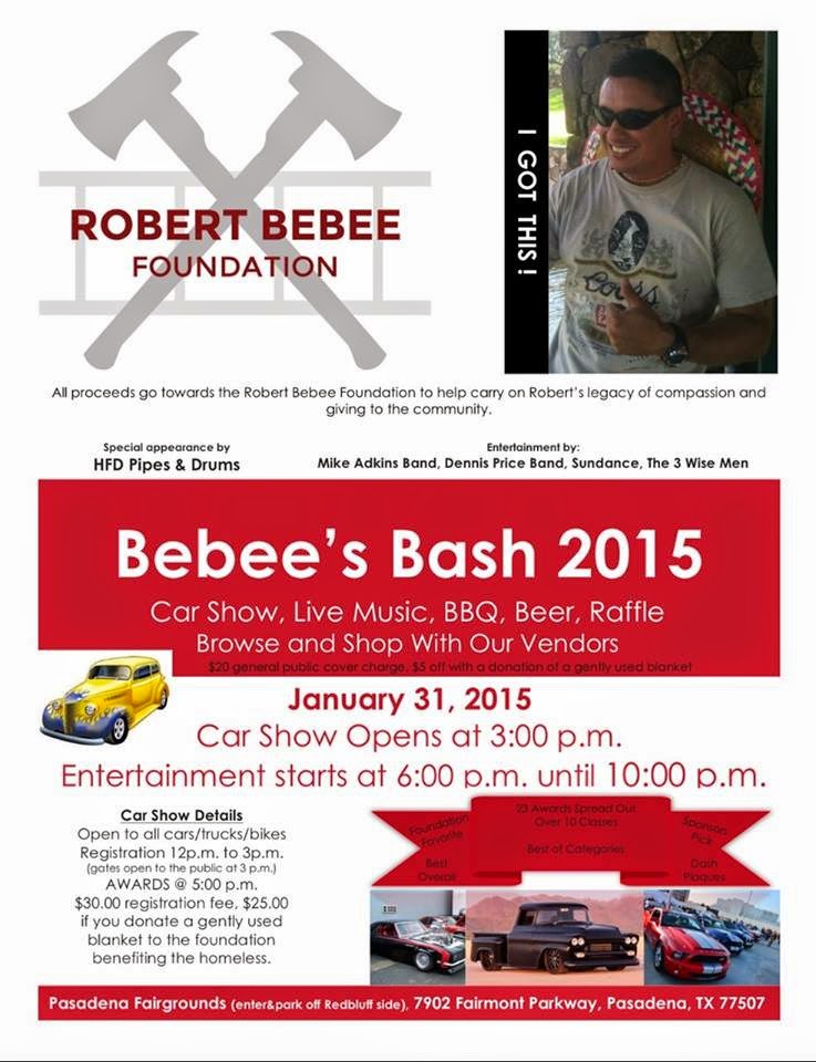 Upcoming Fundraiser For The Robert Bebee Foundation