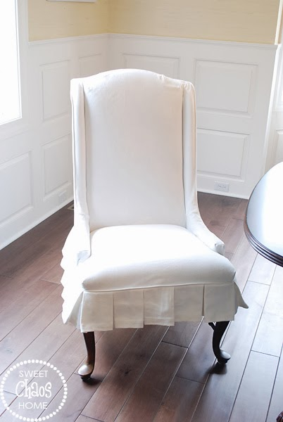 dining chair slipcovers i am on a serious mission to complete my dining room and today i am one step closer