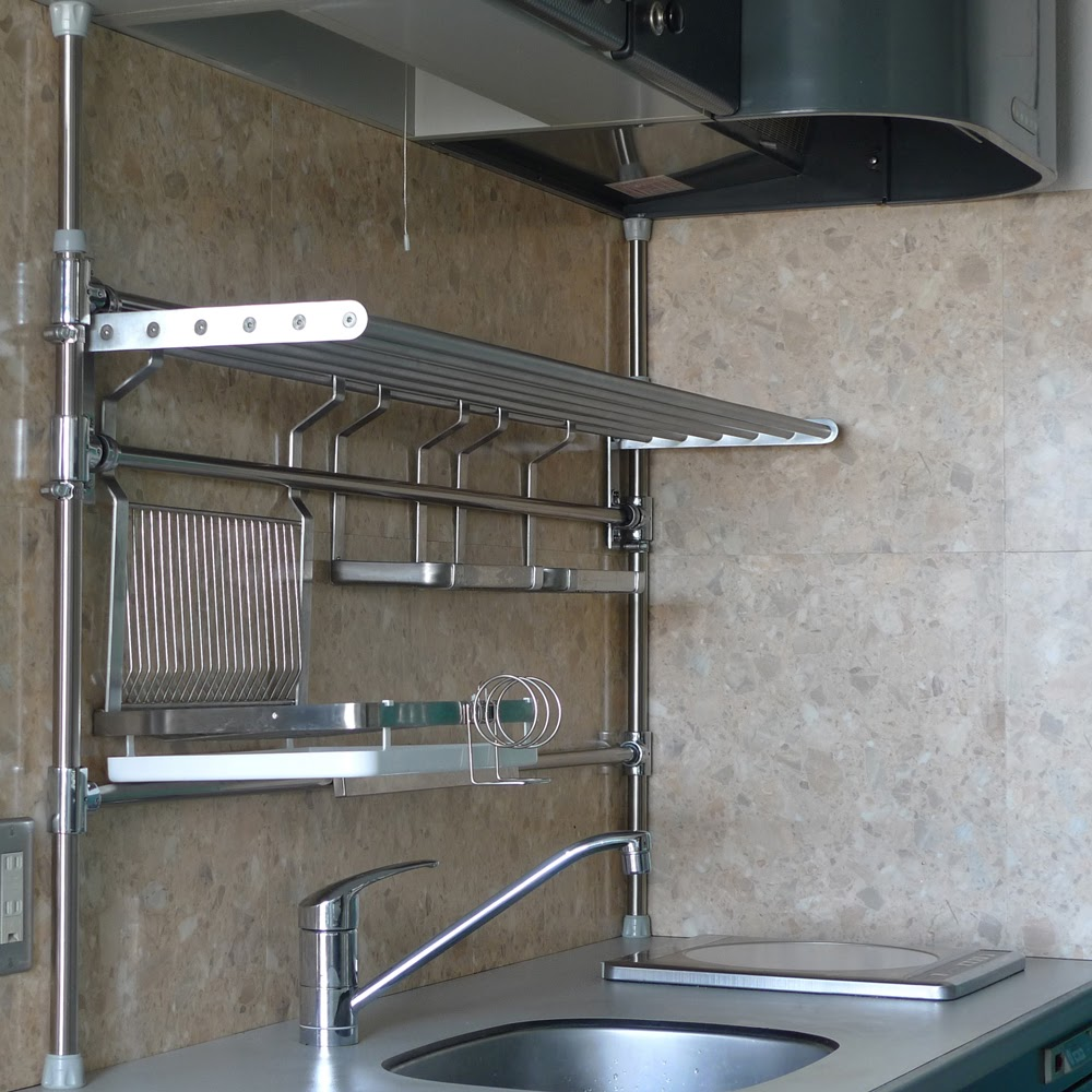 For Shelves In Kitchen Stainless Steel Kitchen Pipe Shelving 6jpg