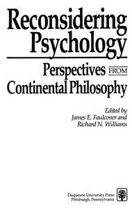 Ebooks parapsychology reconsidering psychology perspectives from continental philosophy duquesne univ pr september 1990 isbn 10 0820702234 262 pages pdf 27 mb fandeluxe Images