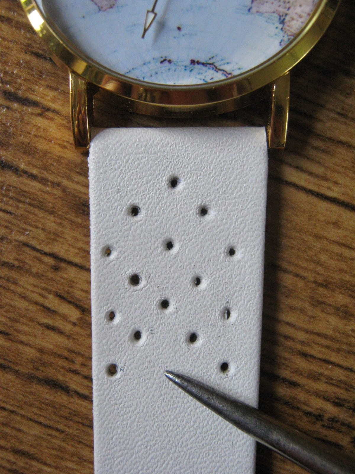 Tutorial Embroidered Watch Strap