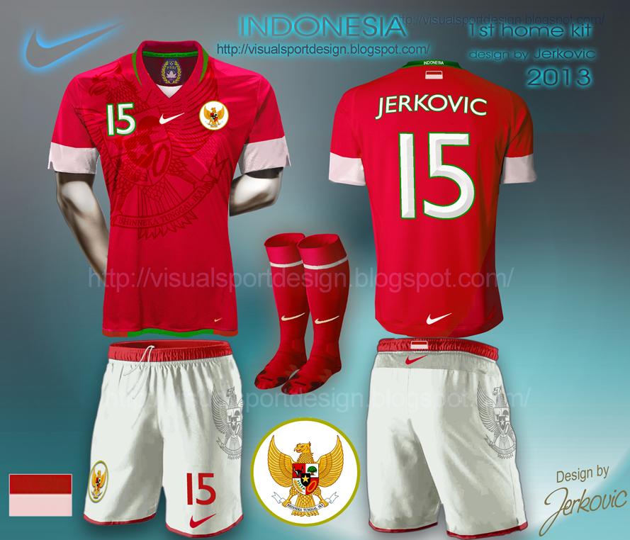 Nike Football Shirt Design Indonesia Football Shirt Nike