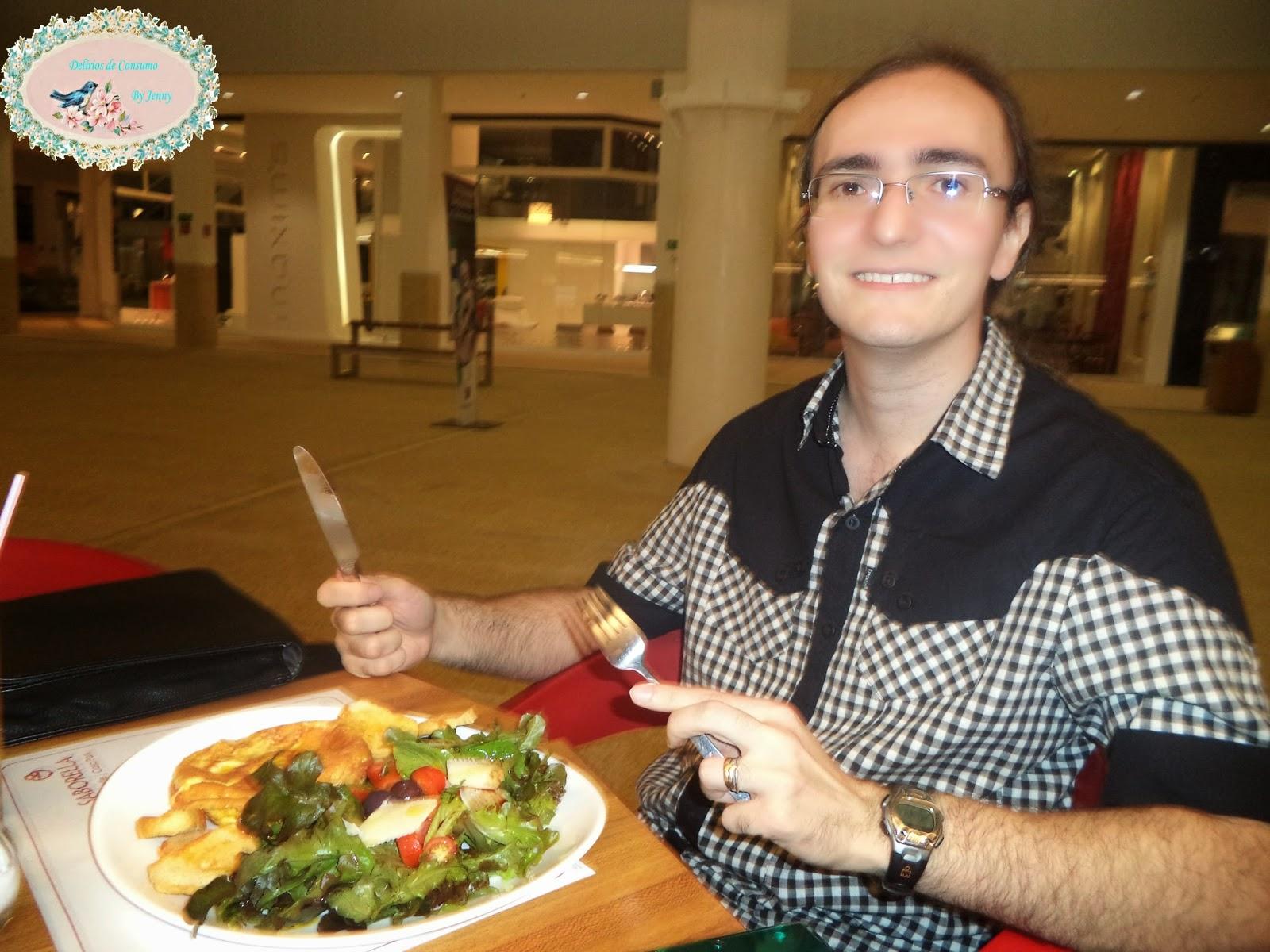 omelete, salada, food, Saborella, blog Delírios de Consumo