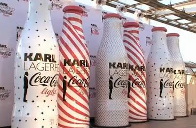 KARL LAGERFELD EN COCA COLA LIGHT