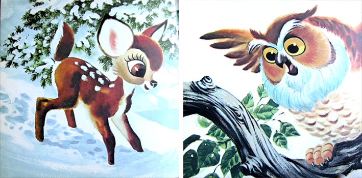 Old things - Vintage - Bambi - http://spicerabbits.blogspot.fr/