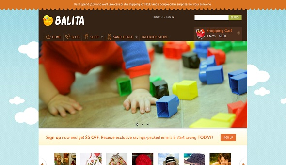Balita Free WordPress Theme 16 Best 2012 Free WordPress Themes