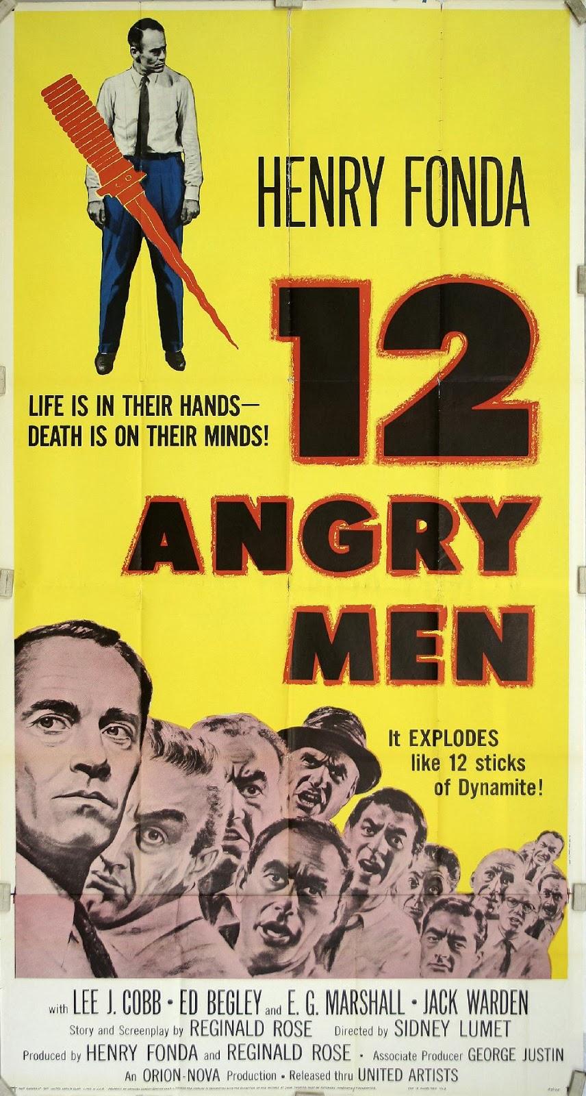 1957 : Imagen: Cartel de la película : 12 hombres sin piedad - Sidney Lumet
