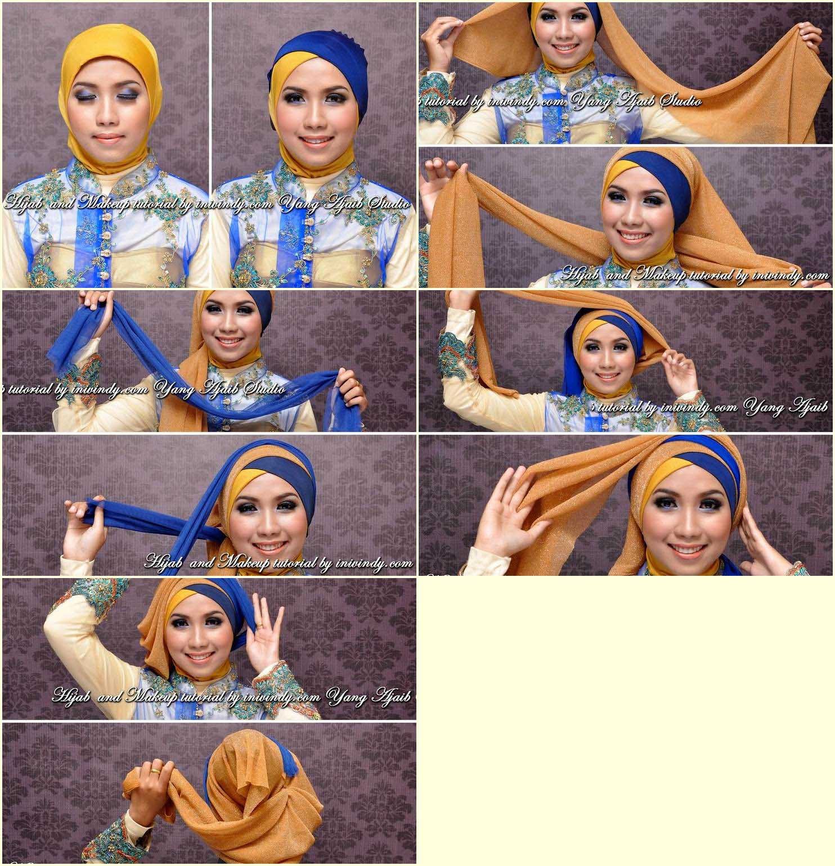 Tutorial Hijab Pashmina Wisuda Kumpulan Model Hijab Dan Tutorial