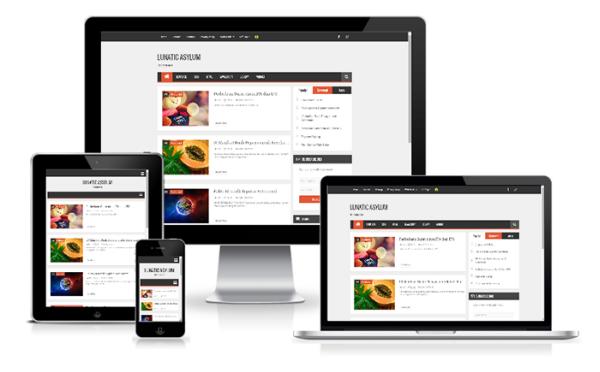 Arlina Design Responsive Blogger Template