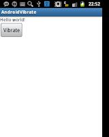 Membuat Aplikasi Android Untuk Vibrate (Bergetar), Menggetarkan Perangkat Secara Pemrograman