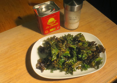 Grünkohl-Chips - kale chips