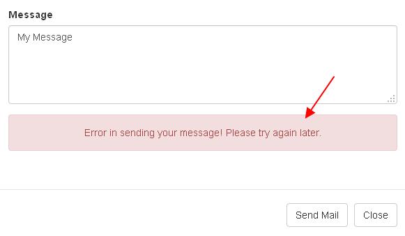 codeigniter-send-email-failure-message