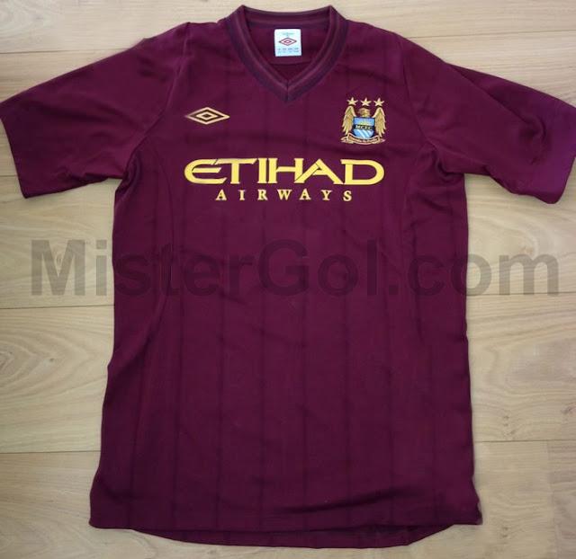Manchester City 2012 2013 Visitante Filtrada   Away Kit Man City 2012