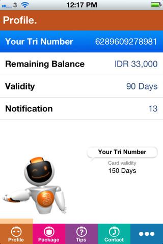 Download BimaTri Untuk Cek Sisa Kuota Internet Tri Tanpa Repot | Info