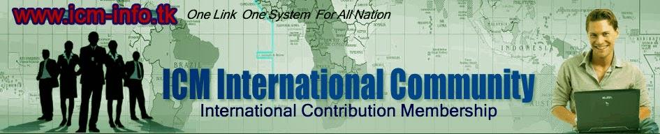 ICM Community Info