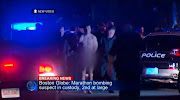 Tamerlan in cuffs, no visible injuries (CBS News)