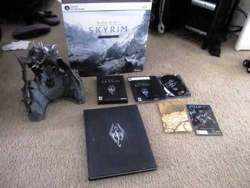 Elder Scrolls V: Skyrim Collectors Edition - PC