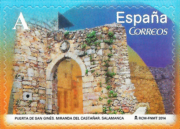 Sello Puerta San Ginés