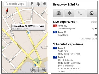 Live transit updates in Google Maps for mobile and desktop