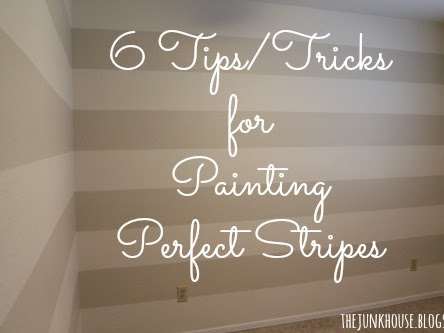 6 Tips for Painting Perfect Stripes