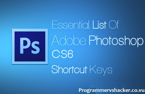 photoshop cs6 shortcut keys pdf