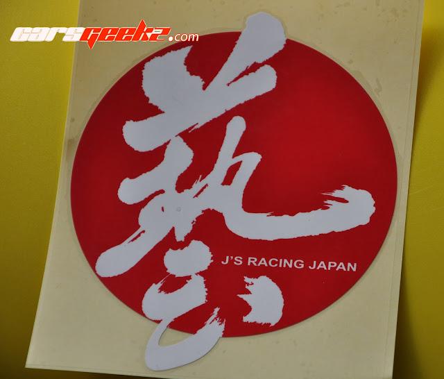J'S Racing Japan vinyl