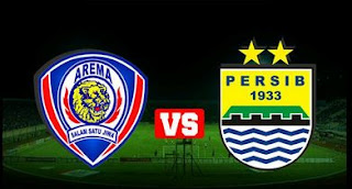 Line-up Arema Cronus vs Persib Bandung